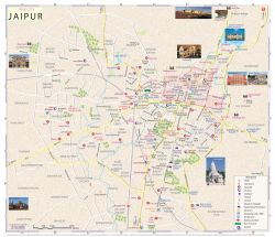 Map of Jaipur